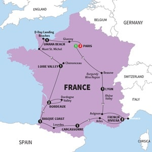 Trafalgar France Tours Available From Escortedtrafalgartourscom - Best of france tours
