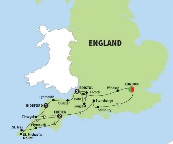 Tours From Bristol England