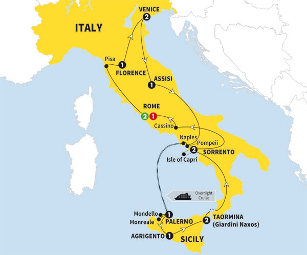 Best of Italy and Sicily - Trafalgar Tours