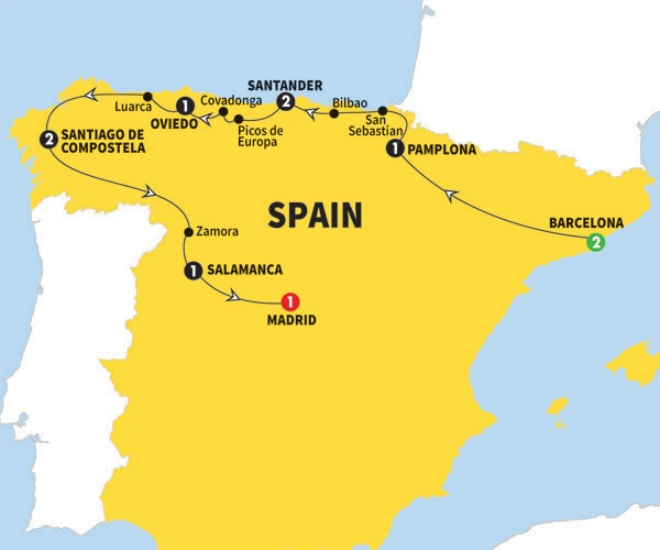 trips land tours europe spains cultural capitals