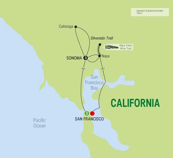 Image result for Trafalgar Tours SAN FRANCISCO AND WINE COUNTRY DELIGHTS Tour