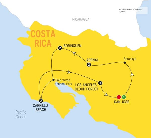 Trips Around Mexico And Central America Trafalgar US - Map of mexico and central america