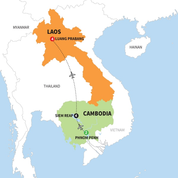 Secrets of Cambodia with Laos Summer 2018