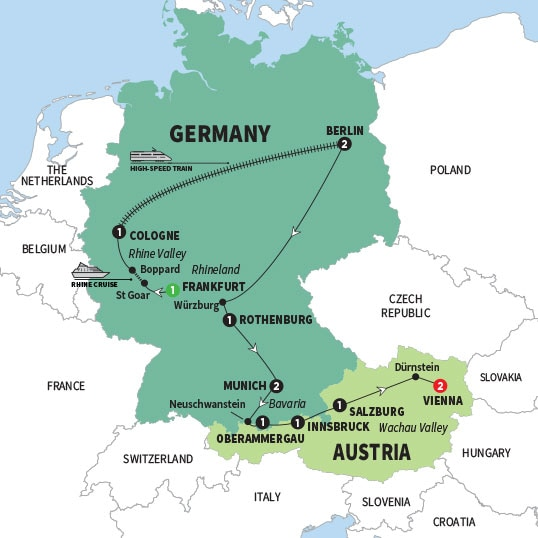 Map Of Germany And Hungary.Best Of Germany And Austria Summer 2018