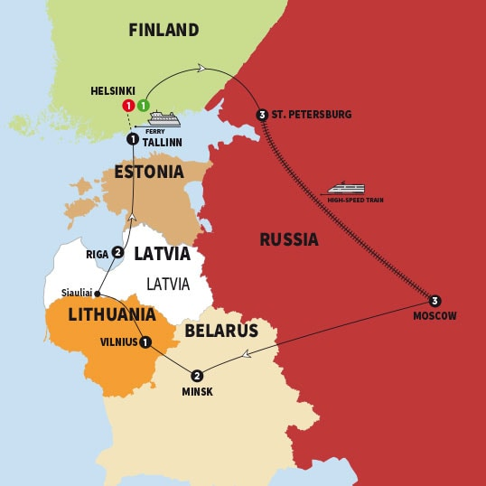 Best of Finland Russia and The Baltic States | Trafalgar