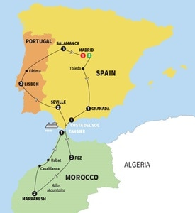 Spain Morocco and Portugal Summer 2018
