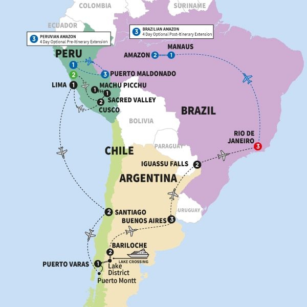 Icons of South America Summer 2018