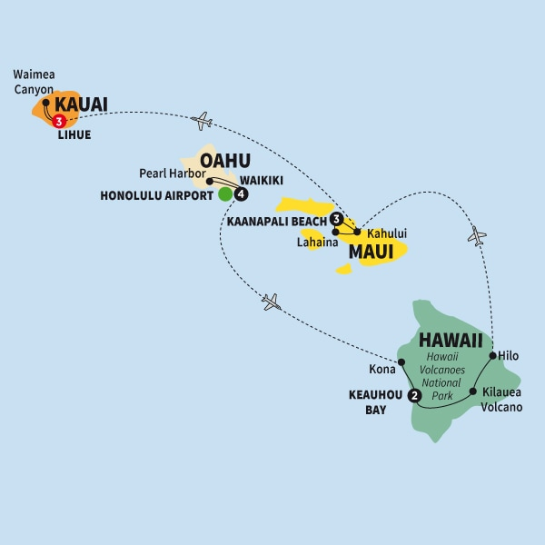 Hawaiian Discovery First Class Summer 2018