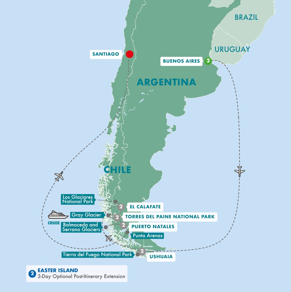 Tauck Tours To South America