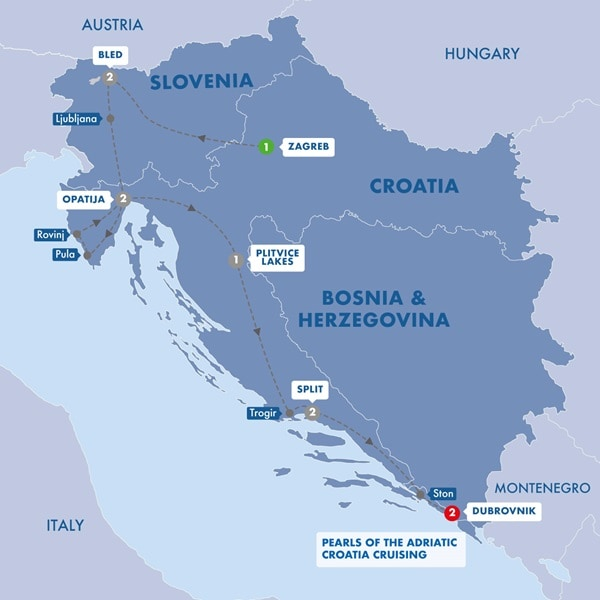 Best of Croatia and Slovenia
