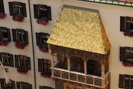 Innsbruck Golden Roof, Austria