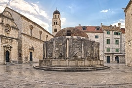 Onofrios Fountain, Dubrovnik, Croatia