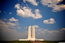 Canadian Memorial Vimy Ridge, France