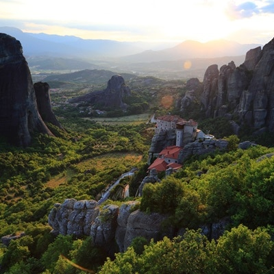 Monasteries of Meteora, Greece